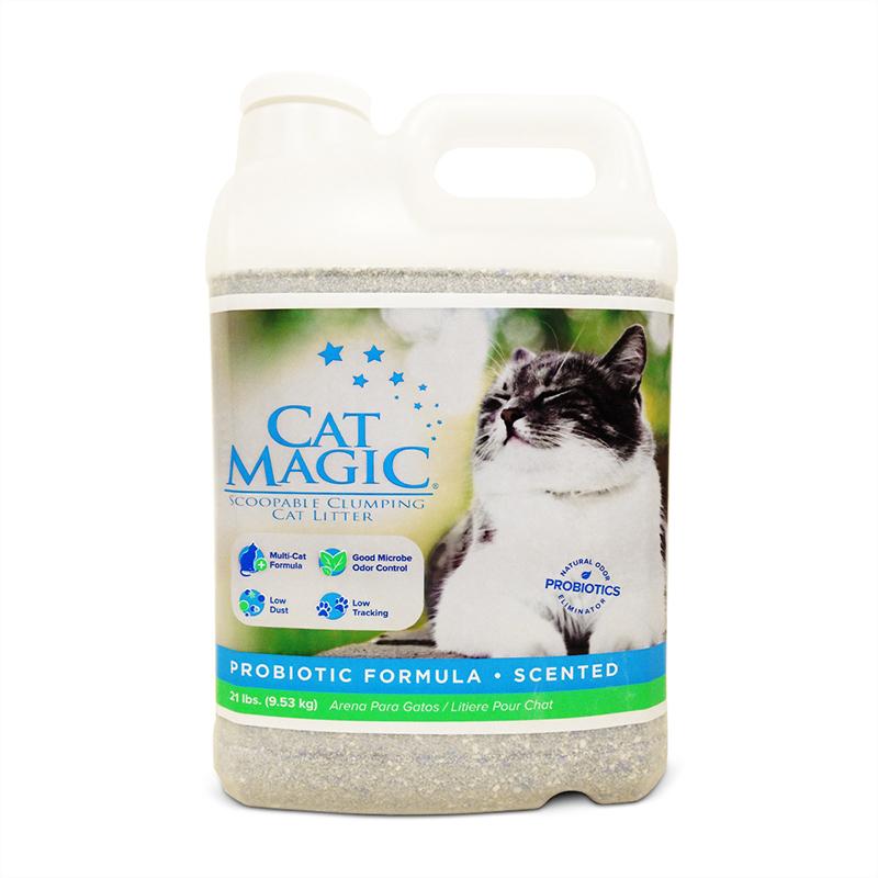 美国Cat Magic喵洁客有香型猫砂20磅