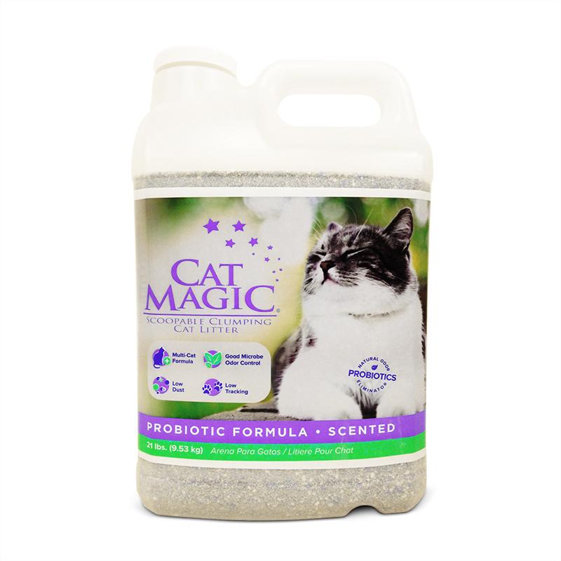 美国CatMagic喵洁客无香型猫砂20磅