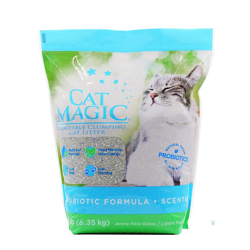 美国Cat Magic喵洁客有香型猫砂 14磅