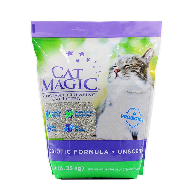 美国CatMagic喵洁客无香型猫砂14磅