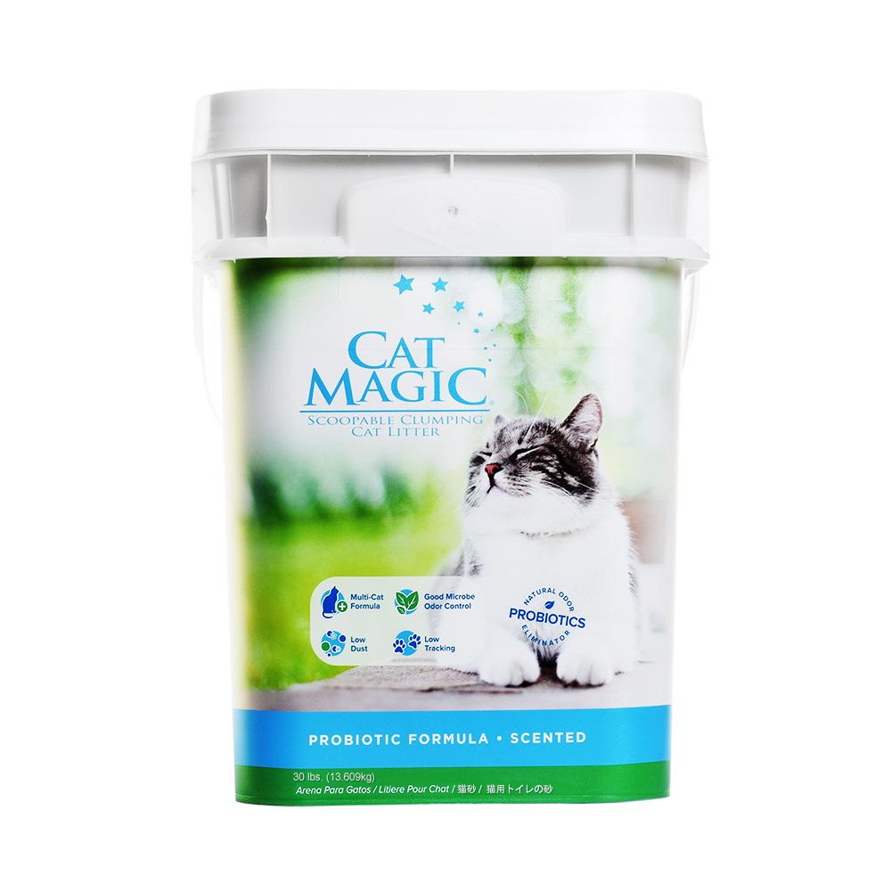 美国Cat Magic喵洁客有香型猫砂30磅