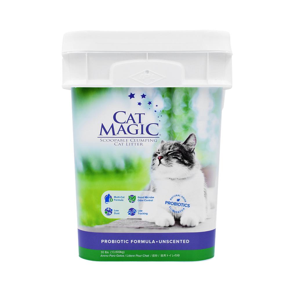 美国CatMagic喵洁客无香型猫砂30磅